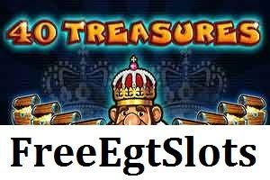 40 Treasures (Casino Technology)